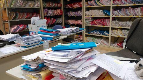 Ratones, alergias y carritos de la compra: así se trabaja hoy en los juzgados madrileños