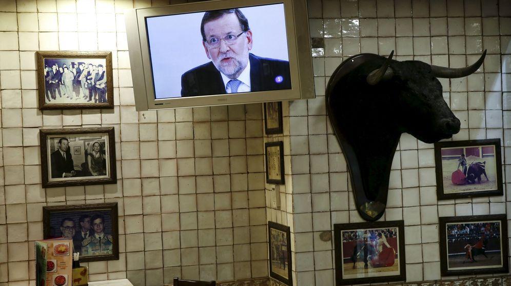 Foto: El presidente Mariano Rajoy en una imagen de televisión. (Reuters)
