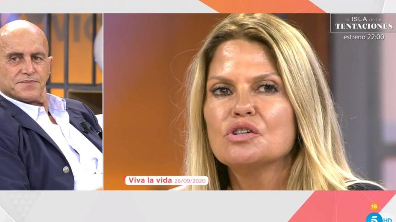 Kiko Matamoros y Makoke, en 'Viva la vida'. (Telecinco).