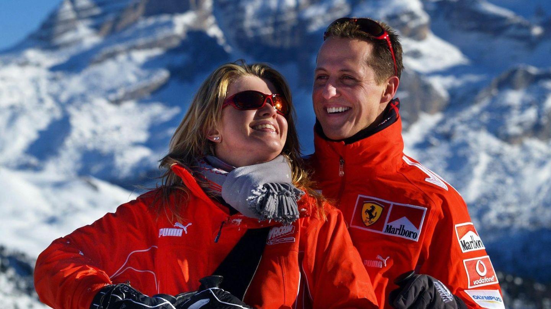 Schumacher y su esposa en 2005. (EFE)