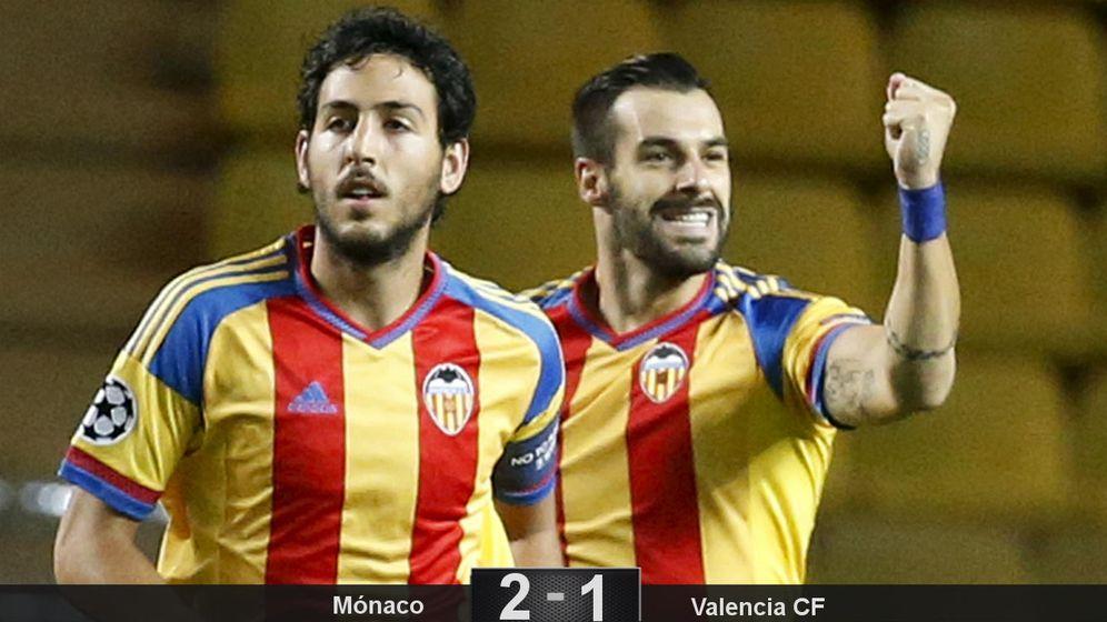 Foto: Negredo pasa de villano a héroe en Mónaco para devolver la Champions a Valencia