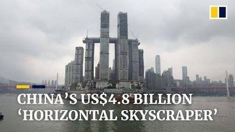 El increíble rascacielos horizontal de China