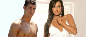 Cristiano Ronaldo 'tontea' con una presentadora portuguesa