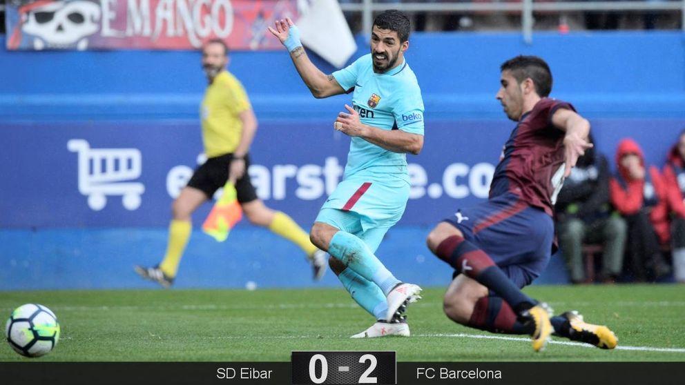 El Barcelona camufla sus dudas con goles
