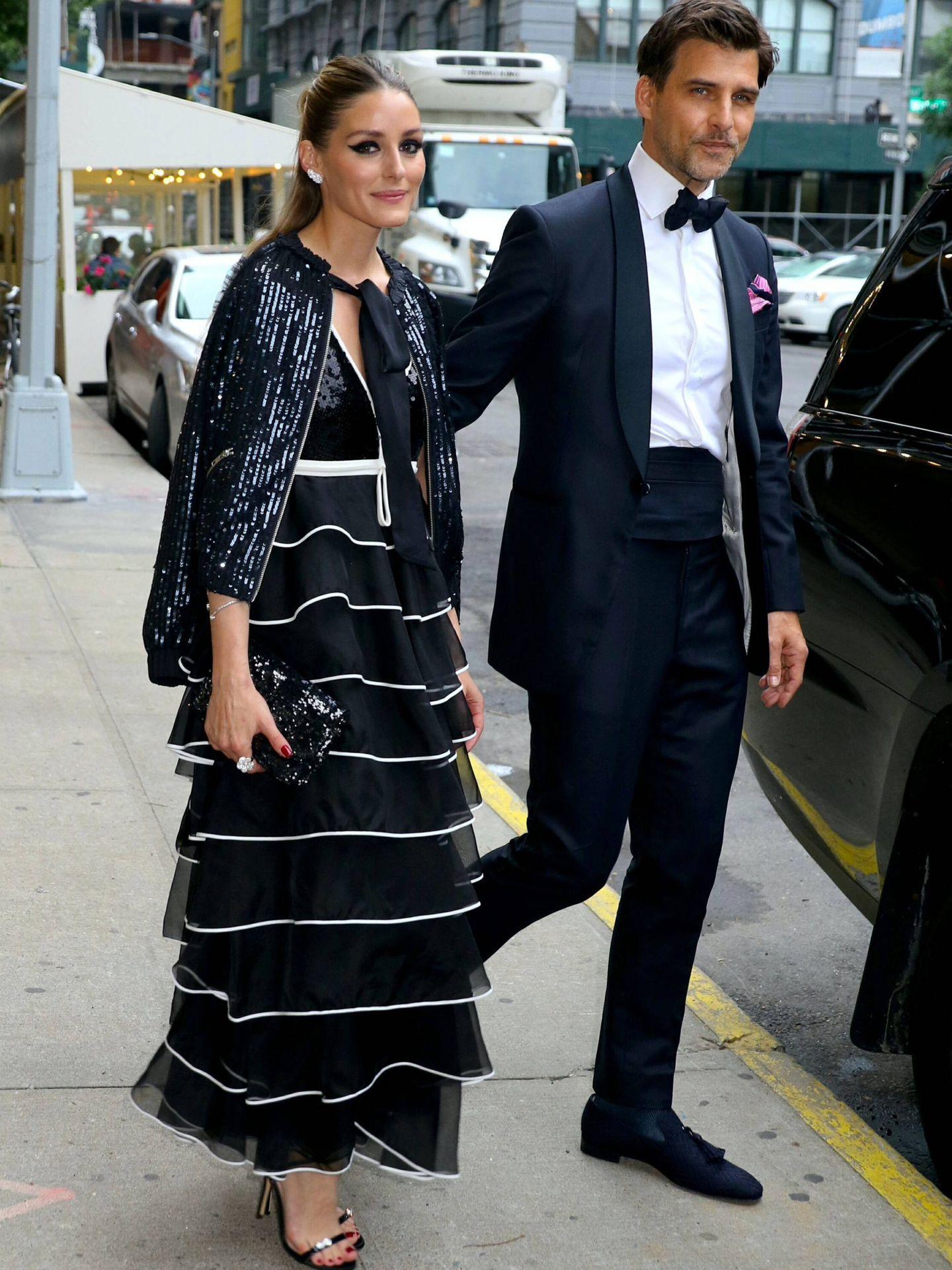 Olivia Palermo y Johannes Huebl. (Cordon Press)