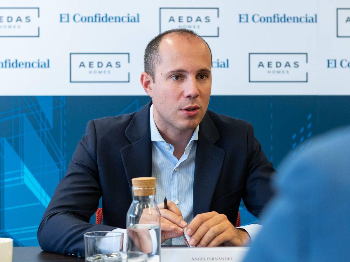 Foto: Ángel Fernández Sánchez, gerente de industrialización de Aedas Homes.