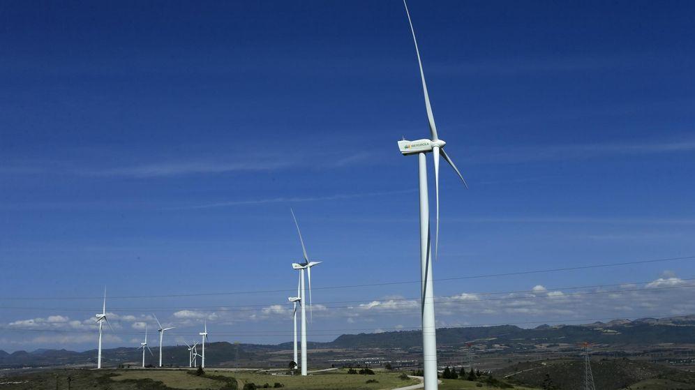 Foto: Parque eólico de Iberdrola en México. (EFE)