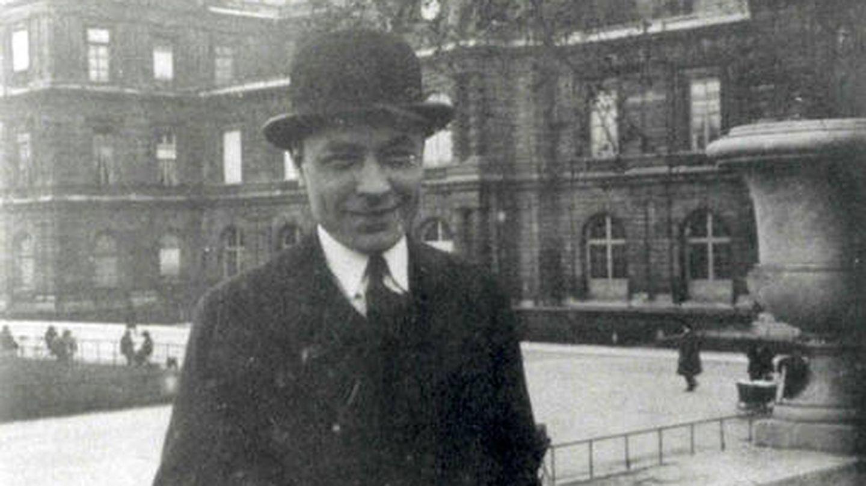 Un joven Josep Pla en París