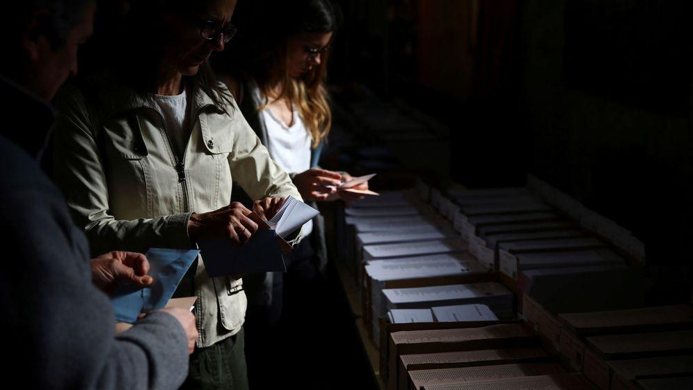 Foto: Colegio electoral en madrid