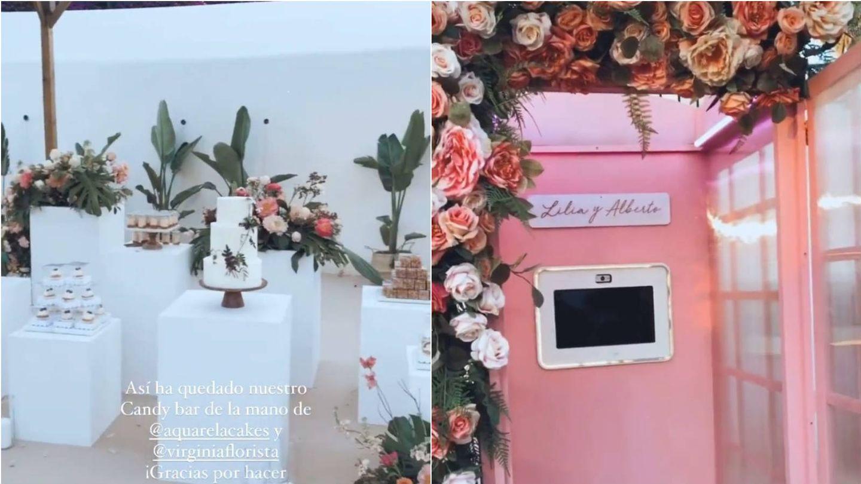 Imágenes del enlace de Alberto Moreno y Lilia Granadilla. (Instagram @weddingswithlove)