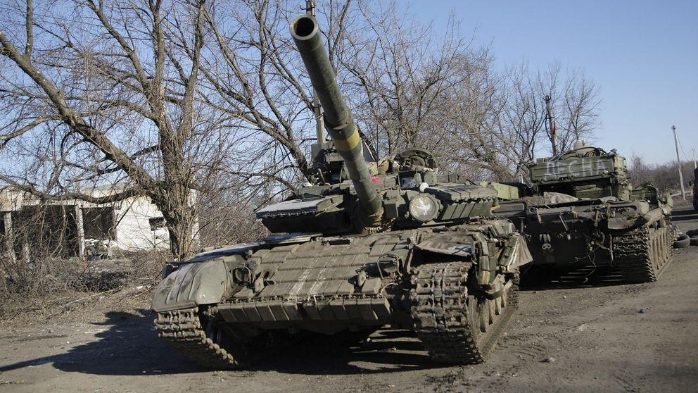 Los separatistas prorrusos retiran el armamento pesado