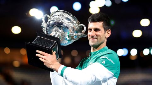 Djokovic, el tenista irreductible que pisa los talones a Nadal y Federer