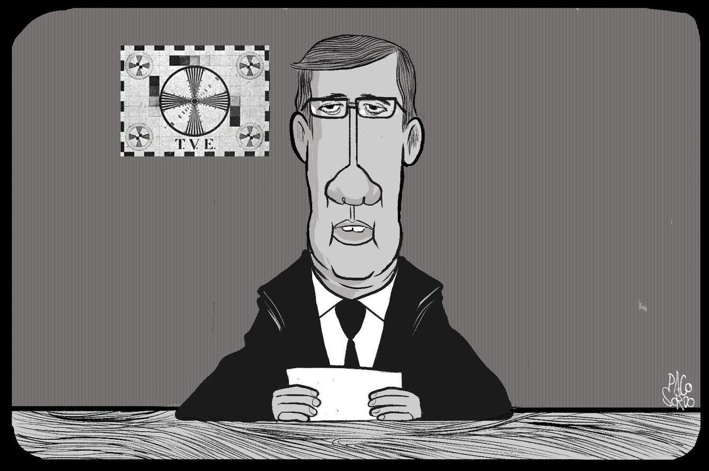 Foto: Caricatura realizada por Paco Sordo