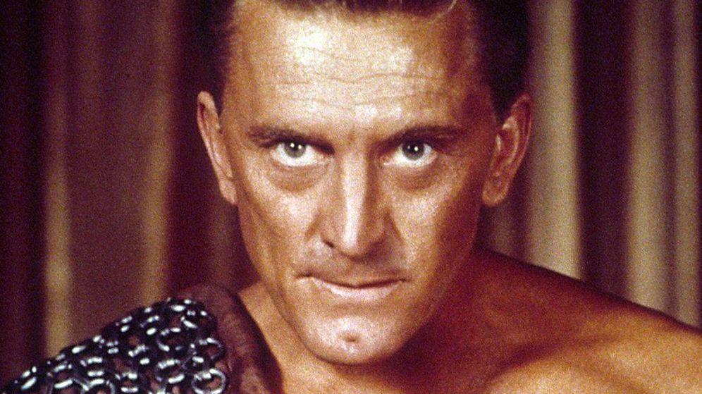 Foto: Kirk Douglas, en un fotograma de 'Espartaco' (1960). (Universal)