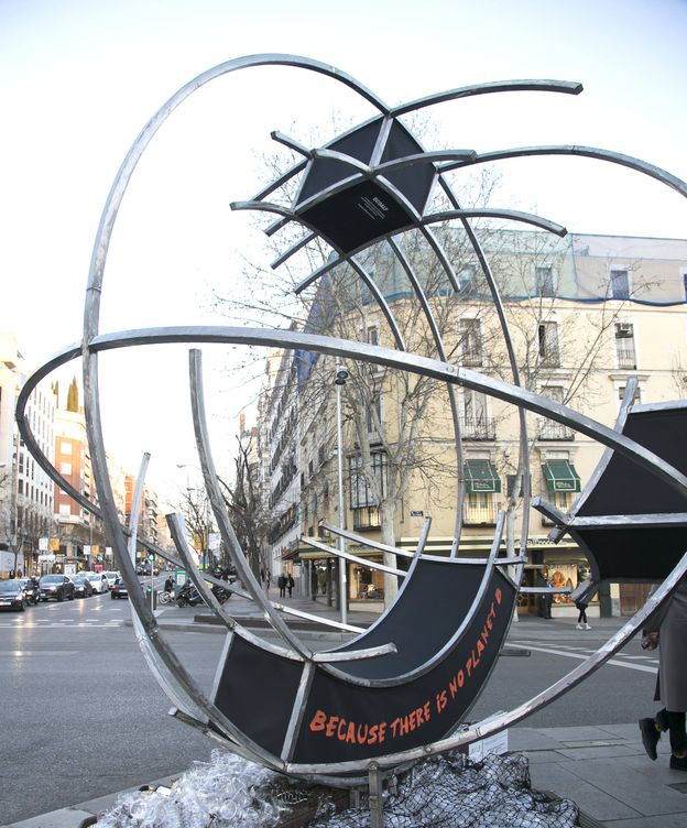 Foto: Escultura de Juan Garaizabal.