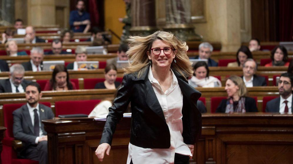 Foto: La consellera de Presidencia y portavoz del Govern, Elsa Artadi. (EFE)