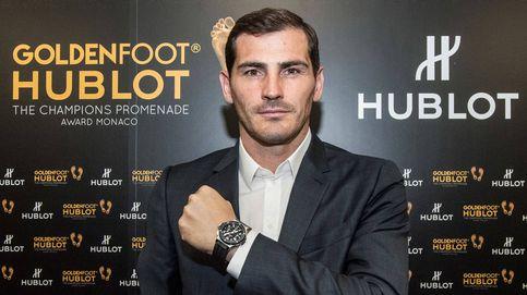 Iker Casillas, ganador del premio Hublot Golden Foot