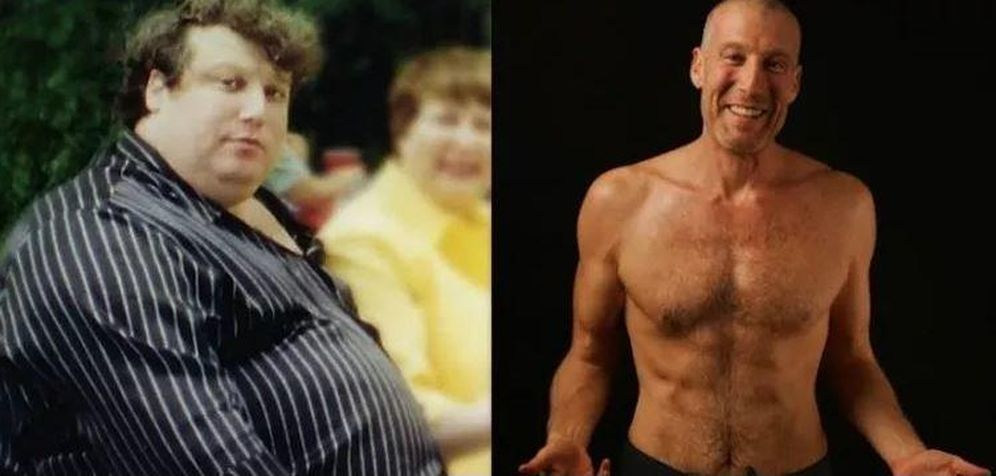 Foto: De izquierda a derecha, Jon Gabriel antes y después de su transformación. (Pinterest)