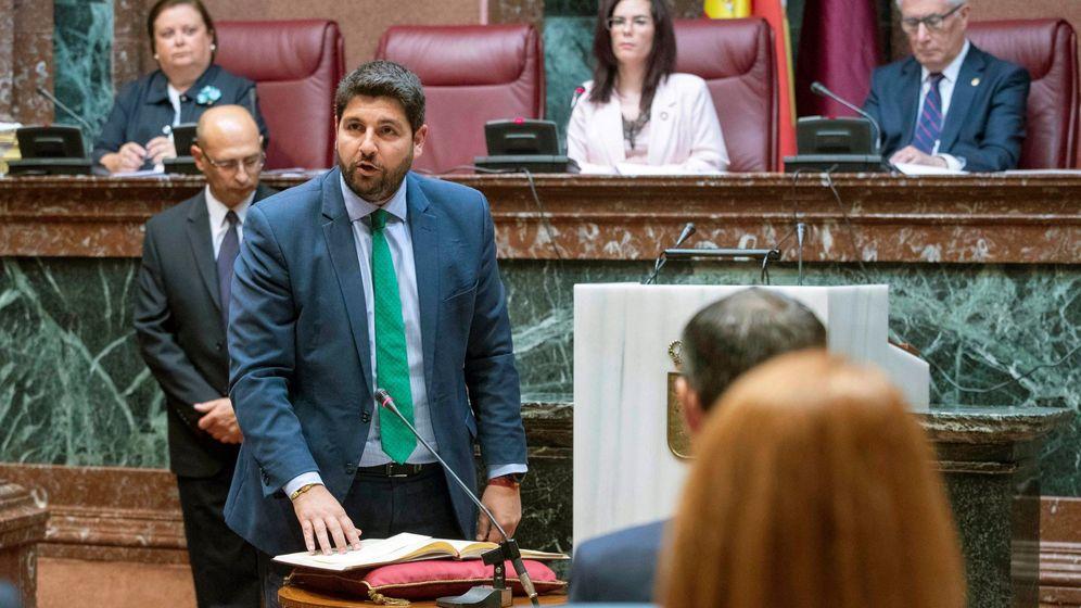 Foto: El presidente en funciones de Murcia, Fernando López Miras. (EFE)