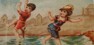 Post de 100 años veraneando en España: los souvenirs rescatados del s.XX