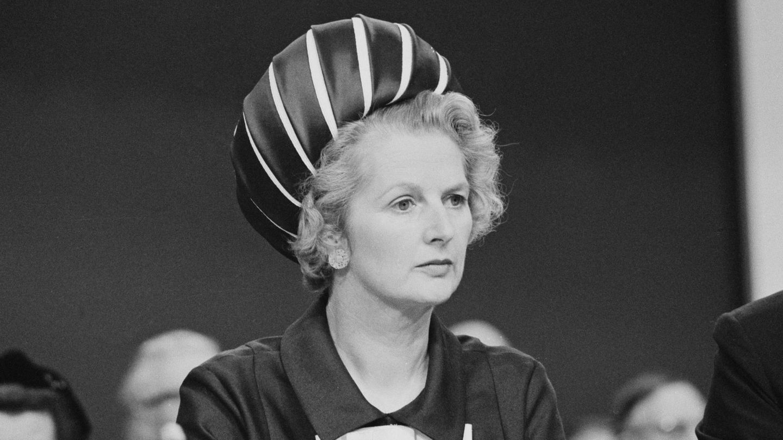 Margaret Thatcher, en 1970. (Getty)