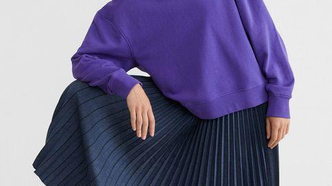 Esta falda plisada de Parfois será tu aliada para la ofi y el afterwork
