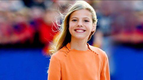 Los 14 años de la infanta Sofía: el difícil papel del segundón