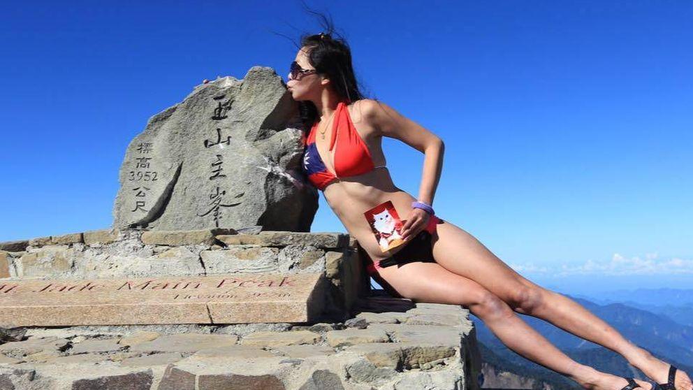 Muere la escaladora Gigi Wu, famosa por hacerse fotos en bikini al llegar a la cima