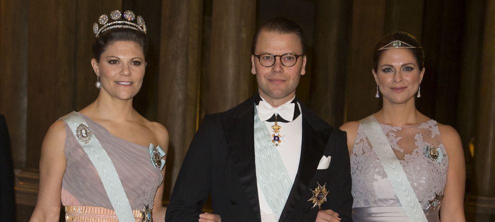 Foto: El principe Daniel, junto a las princesas Victoria y Magdalena (Gtres)