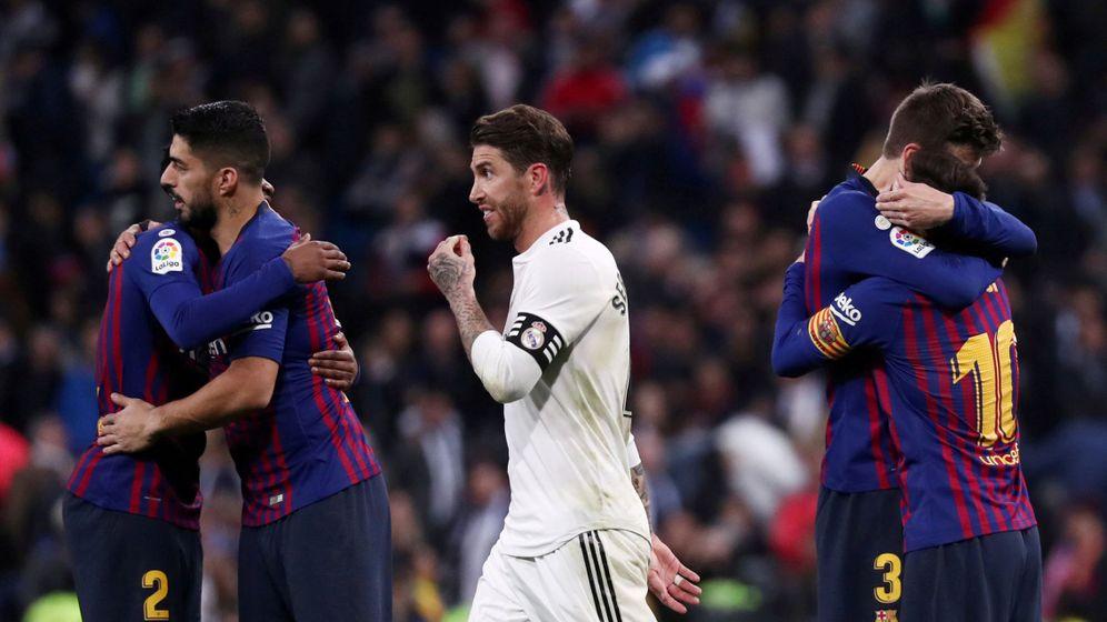 Foto: Sergio Ramos en el Clásico del año pasado. (Reuters)
