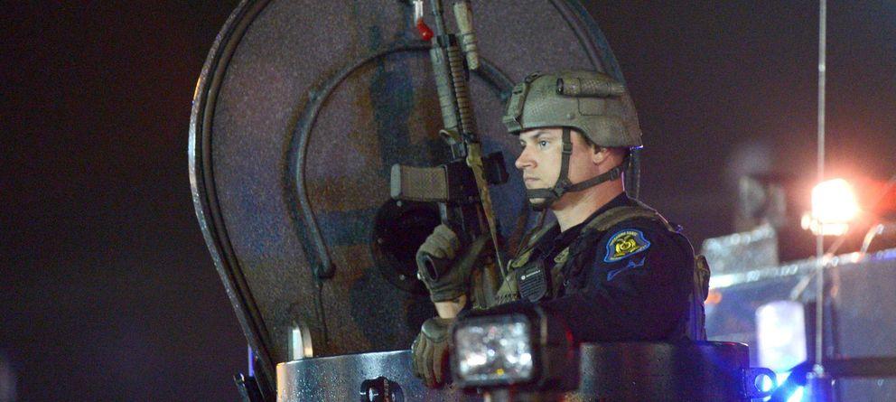 Foto: La militarización policial en los disturbios de Ferguson