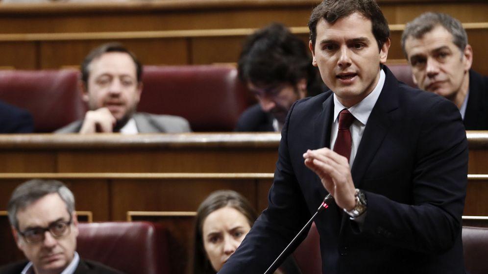 Foto: Albert Rivera en la sesión de control del Congreso. (EFE)