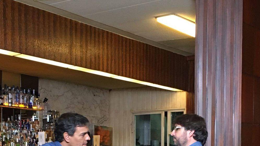 Foto: Pedro Sánchez y Jordi Évole en 'Salvados'. (La Sexta)