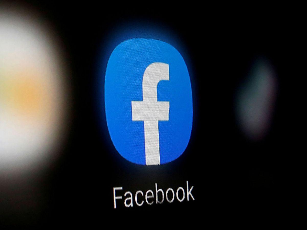 Foto: Logo de Facebook. (Reuters)