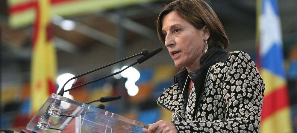 Foto: La presidenta de la Asamblea Nacional Catalana (ANC), Carme Forcadell (EFE)