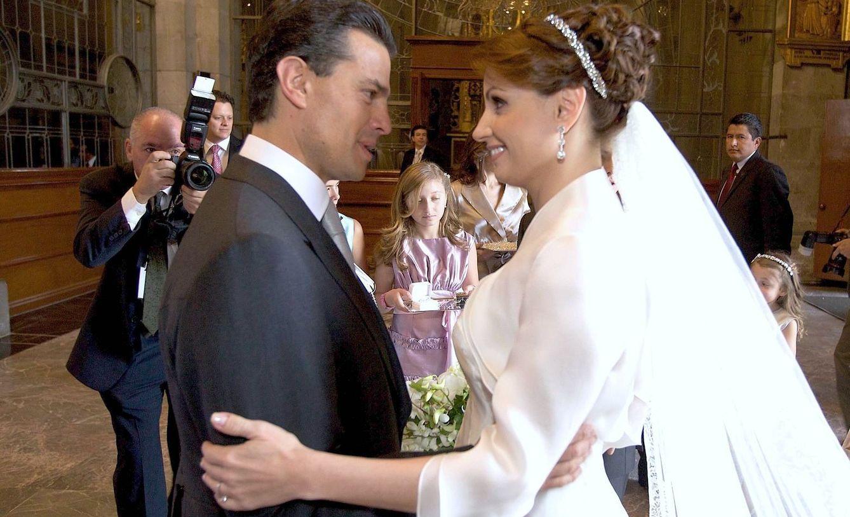 Foto: Así fue la boda de Angélica Rivera y Enrique Peña