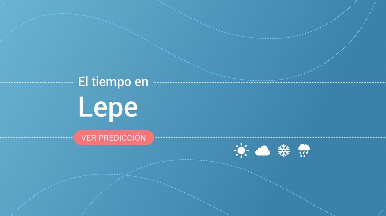 El tiempo en Lepe: previsión meteorológica de hoy, miércoles 14 de agosto