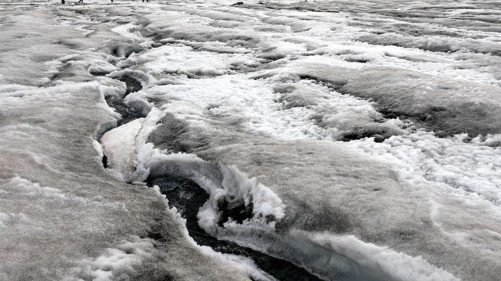 Foto: Así es el océano que hay oculto bajo la Antártida y cómo afecta a su deshielo. (EFE)