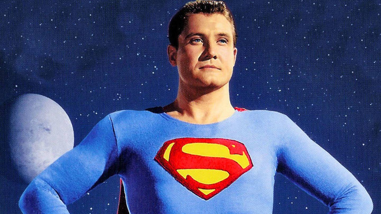 George Reeves como Superman.
