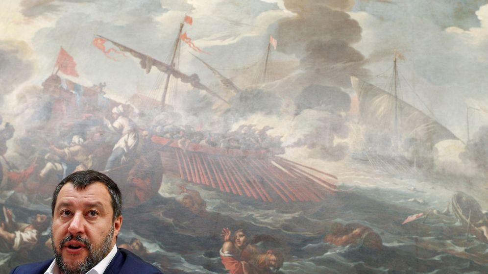 Foto: El vicepresidente italiano y líder de la Liga, Matteo Salvini. (Reuters)