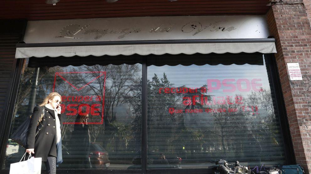 Los impulsores de la sede paralela de Ferraz se quedan unas horas sin su cuenta de Twitter