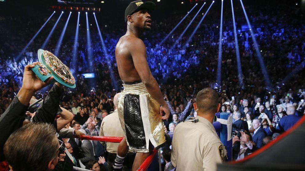 Mayweather vence a Pacquiao en la pelea del siglo