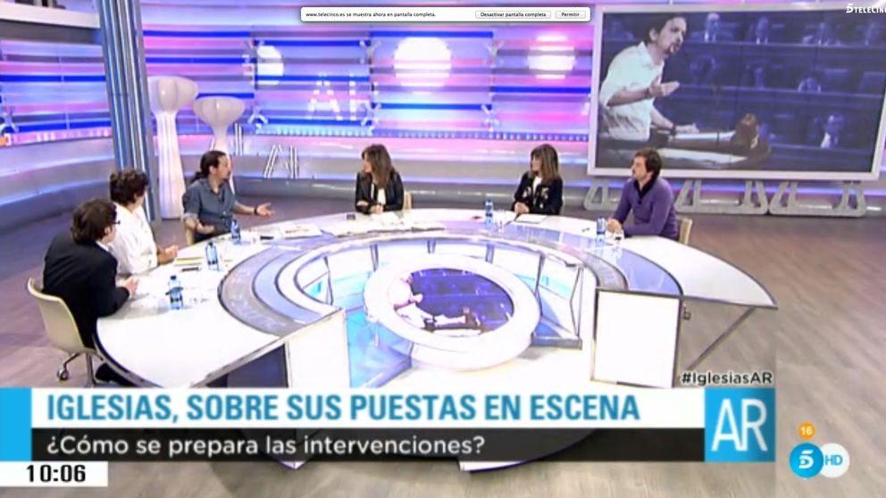 Pablo Iglesias y los 75 pestañeos del informe: Hago caso relativamente