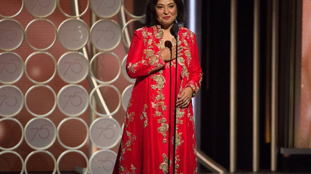 Foto: Meher Tatna, la actriz que anunció el premio