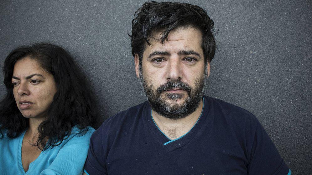 Foto: El español que lleva 11 días viviendo en el aeropuerto de Bogotá
