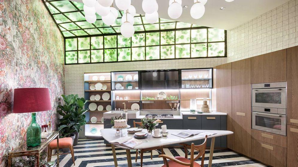 Foto: Imagen de la cocina que proponen desde Dosde Espacio Cocinas. (Foto: Casa Decor/Cortesía)