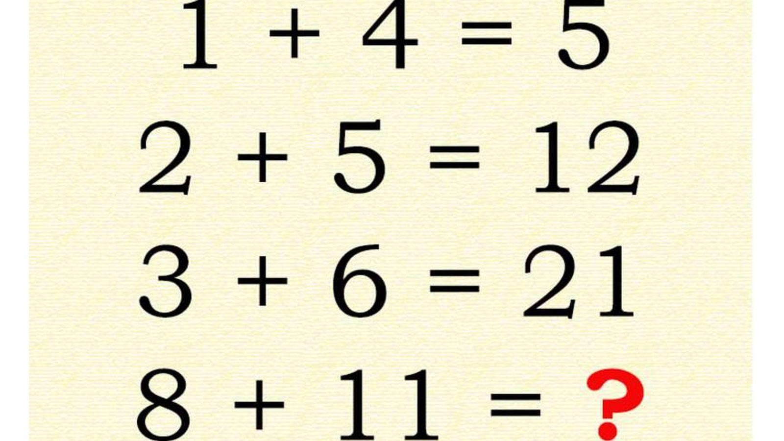 Test El Problema De Matematicas Que Solo Una De Cada Mil Personas