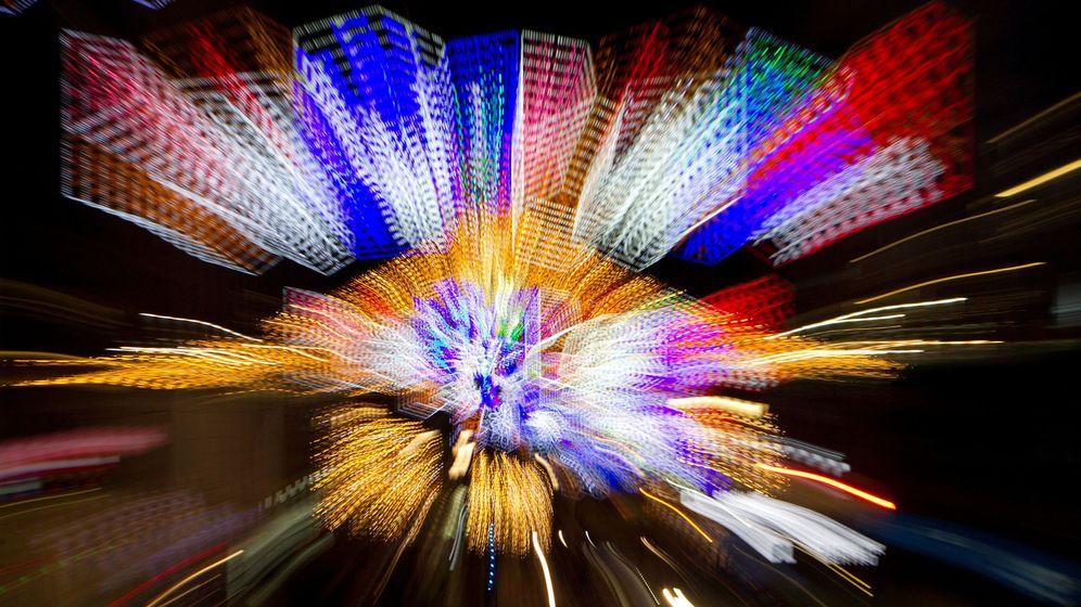 Foto: Encendido de la luces de Navidad de Vigo. (EFE)