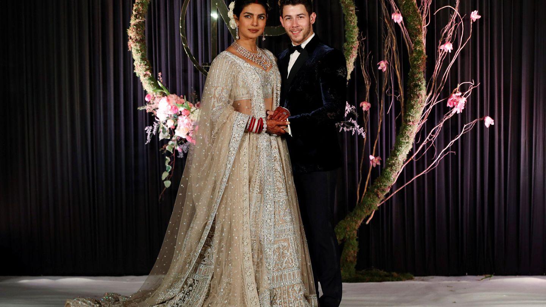 La boda de Priyanka Chopra y Nick Jonas. (Reuters)