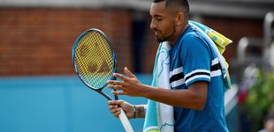 Post de Multa a Kyrgios por simular masturbarse en pleno partido ante Djokovic